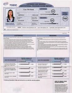 Oanh certificate