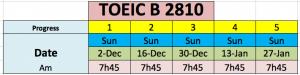 Toeic B 2810