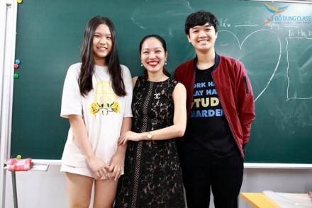 Do Quang Minh - Hoc sinh lop Luyen Thi Chuyen Anh co Do Dung (2)