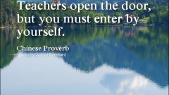 luyen-thi-toeic-Learning-quotes-Teachers-open-the-door