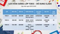 Khai giang update 20-7-1