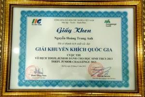 Luyen Thi Vao Cap 3 Chuyen Ngu