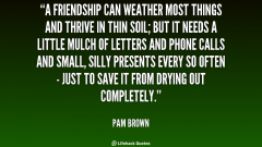 quote-Pam-Brown-a-friendship-can-weather-most-things-and-349